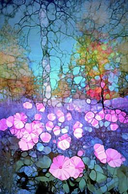 Digital Art - The Forest Floor In Bloom by Tara Turner