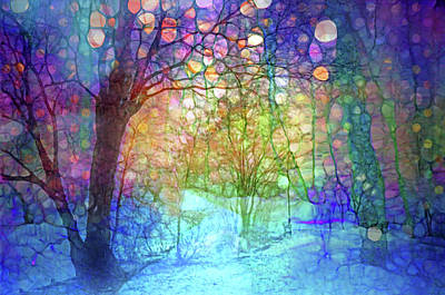 Digital Art - The Forest Of Forgotten Dreams by Tara Turner