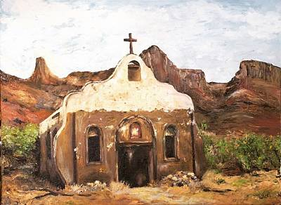 Painting - The Forgotten Chapel by Cheryl Green