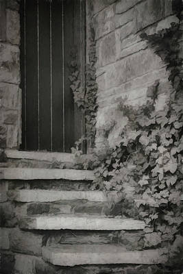 Photograph - The Forgotten Door by Teresa Wilson