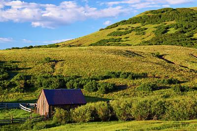 Photograph - The Forgotten Farm by John De Bord