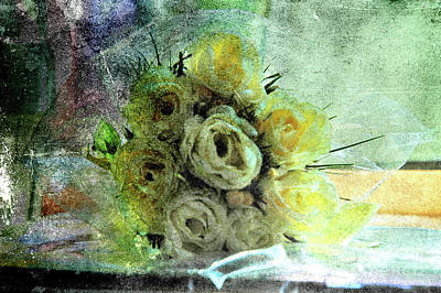 Cellophane Photograph - The Forgotten Flowers by Susanne Van Hulst