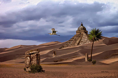 Digital Art - The Forgotten Kingdom Of Kush by Mike Braun