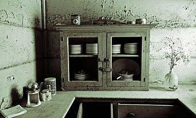 Photograph - The Forgotten Kitchen by Holly Blunkall