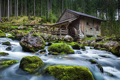 The Forgotten Mill Art Print by JR Photography