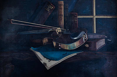 Photograph - The Forgotten Violin by Tikvah's Hope