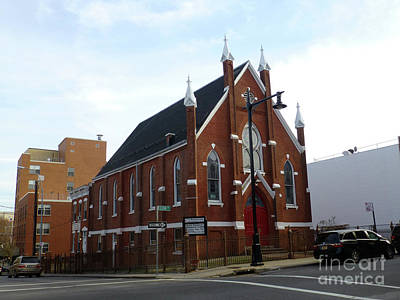 Photograph - The Former Elton Ave German Methodist Episcopal Church  Now La Resurreccion United Methodist by Steven Spak