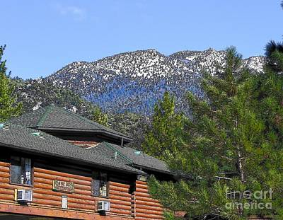 Photograph - The Fort At Idyllwild by Lisa Dunn