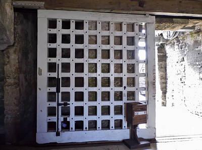 Photograph - The Fort Door by D Hackett