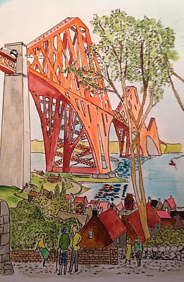 The Forth Rail Bridge Original by Ralph Taylor