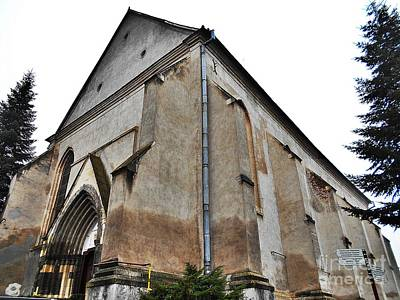 Photograph - The Fortress Church 3 by Erika H