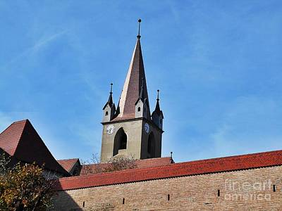 Photograph - The Fortress Church  by Erika H