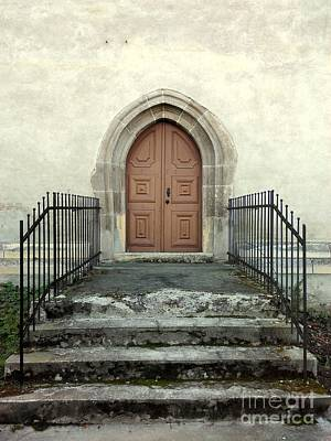 Photograph - The Fortress Church's Side Door  by Erika H