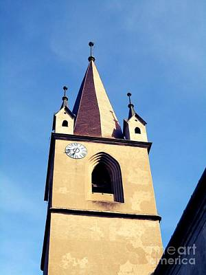 Photograph - The Fortress Church's Steeple-tower by Erika H