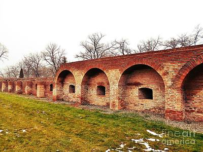 Photograph - The Fortress Wall  by Erika H