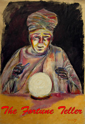 Painting - The Fortune Teller And The Crystal Ball by Tom Conway