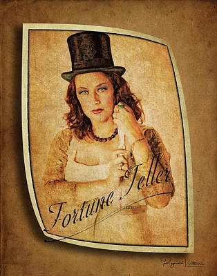 Photograph - The Fortune Teller by Reynaldo Williams