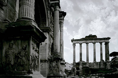 Ancient Rome Photograph - The Forum by Warren Home Decor