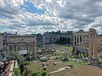 Photograph - The Forum by S Paul Sahm