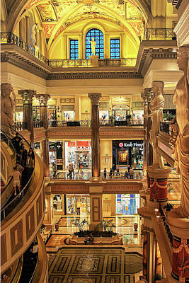 Photograph - The Forum Shops At Caesars, Las Vegas by Tatiana Travelways