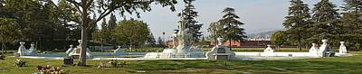 Photograph - The Fountain At Valhalla - Full by Tommi Trudeau