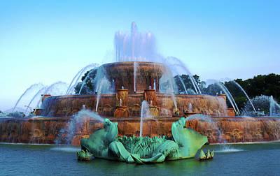 Photograph - the Fountain by Milena Ilieva