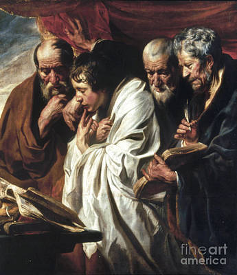 Painting - The Four Evangelists by Granger