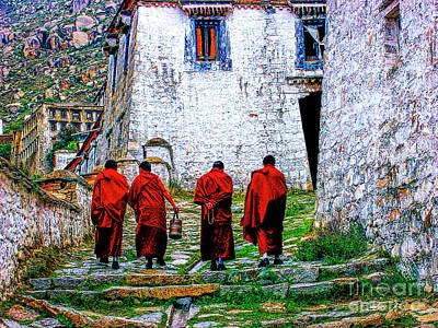 Photograph - The Four Monks by Rick Bragan