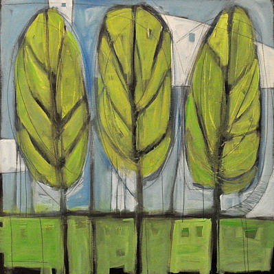 Landscape Painting - the Four Seasons - spring by Tim Nyberg