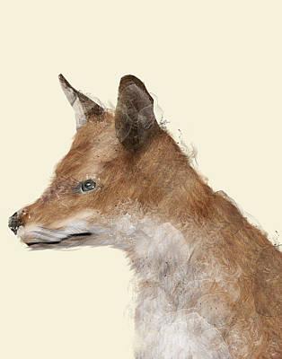 Fox Digital Art - The Fox by Bri B