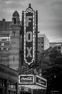 Egyptian Theatre Photograph - The Fox Theater 8 Coca Cola Signage Art by Reid Callaway