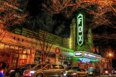 Photograph - The Fox Theater Opened In 1929 by Reid Callaway