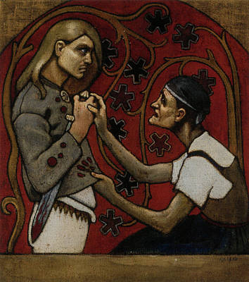 The Fratricide Art Print by Akseli Gallen