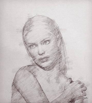 Canon Digital Art - The Free Woman by Joaquin Abella
