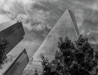 Photograph - The Freedom Tower Bw by Jonathan Nguyen