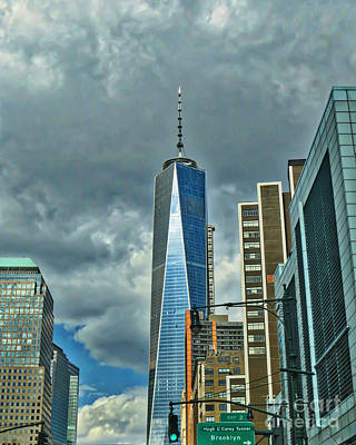 Photograph - The Freedom Tower by Kerri Farley