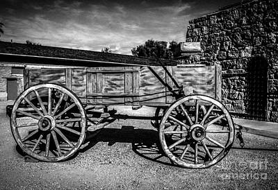 Photograph - The Freight Wagon by Robert Bales