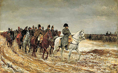 Painting - The French Campaign by Celestial Images