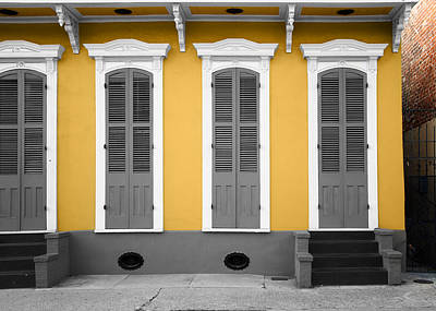 Steven Michael And Art Photograph - The French Quarter by Steven  Michael
