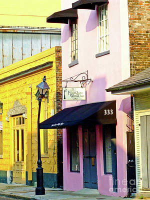 The French Quarter Wedding Chapel Art Print