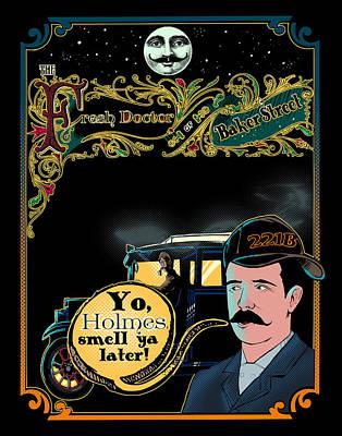 Will Smith Digital Art - The Fresh Doctor Of Baker Street  by Jason  Wright