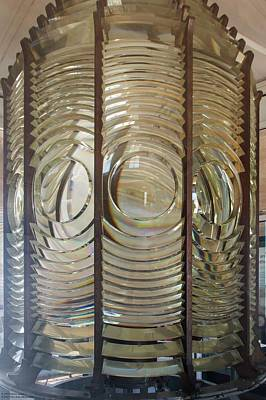 Photograph - The Fresnel Lens Of Old Point Loma Lighthouse by Hany J