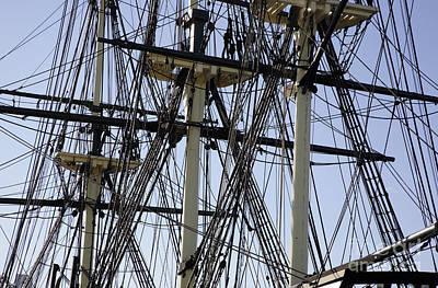 New England Photograph - The Friendship Of Salem Tall Ship  In Salem Massachusetts Usa by Erin Paul Donovan