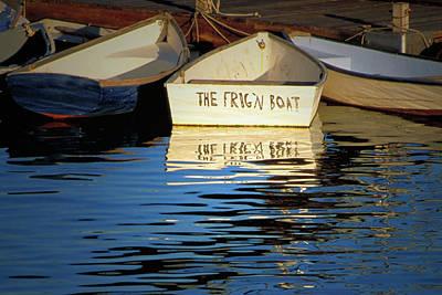 The Frig'n Boat Art Print