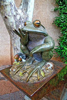 Photograph - The Frog by James Steele