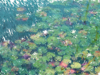 Painting - The Frog Pond  by Eddie Durrett