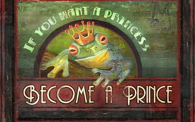 Painting - The Frog Prince by Joel Payne