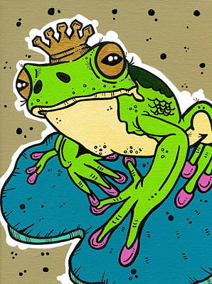 The Frog Prince Original by Nicole Wilson