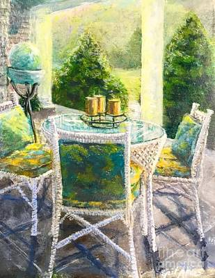 Painting - The Front Porch by Gail Allen