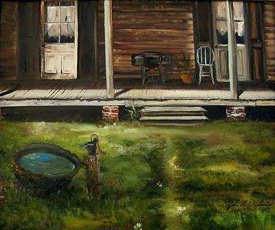 Painting - The Front Porch by John  Duplantis